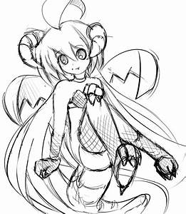Doodle Dragon girl by R-chura on DeviantArt