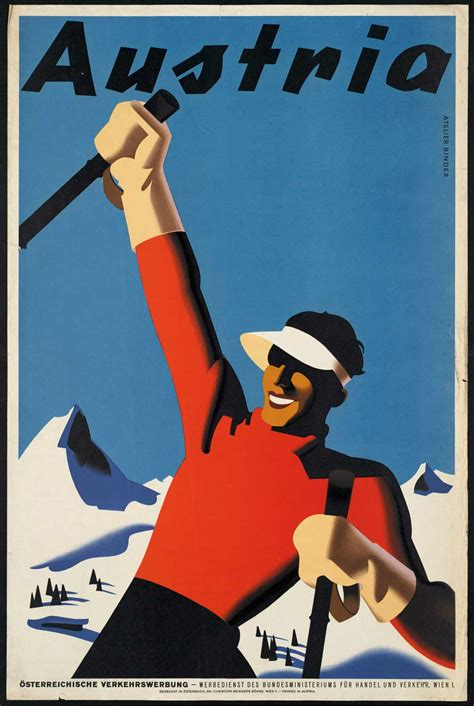 Flares into Darkness: Vintage travel posters