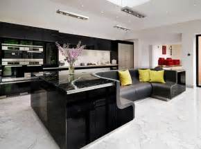 built in kitchen island kitchen island with built in sofa upgrades stylish home freshome com