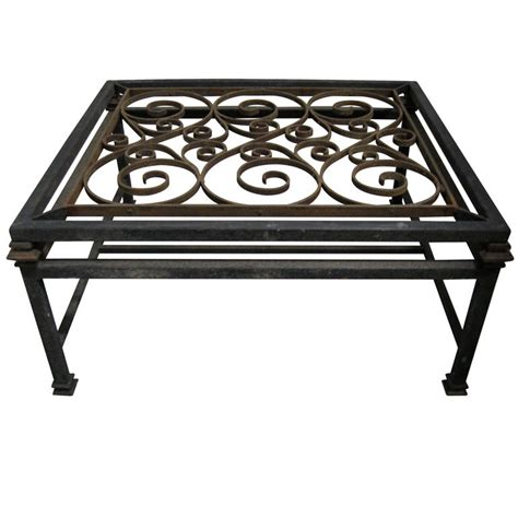 coffee tables ideas wrought iron coffee table with glass