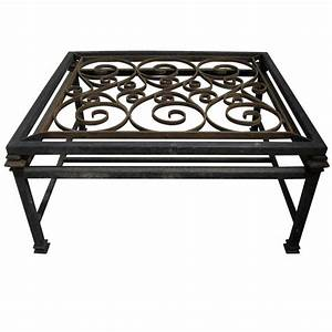 Adorable wrought iron coffee tables for Adorable wrought iron coffee tables
