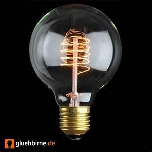 Glühlampe Als Lampe : rustika globe gl hbirne 40w g80 e27 vielfachwendel gl hlampe klar 80m ~ Markanthonyermac.com Haus und Dekorationen