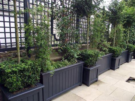 Wooden Garden Planter Boxes, Contemporary And Traditional