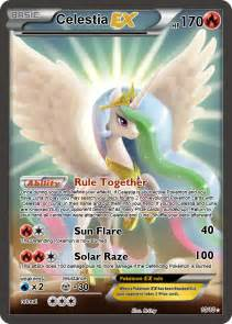 Celestia EX Pokemon card