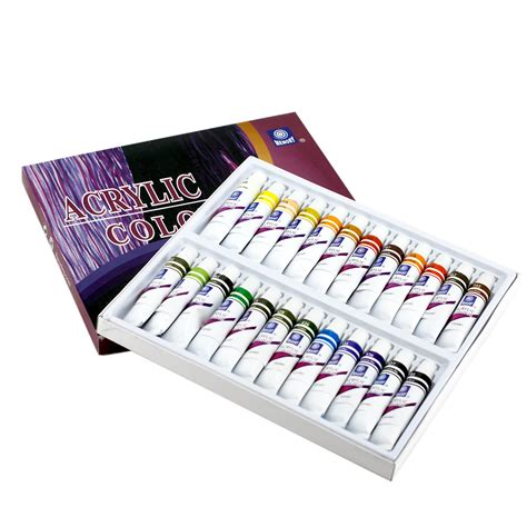 paints 24 colors acrylic paint for beginners students professionals ebay