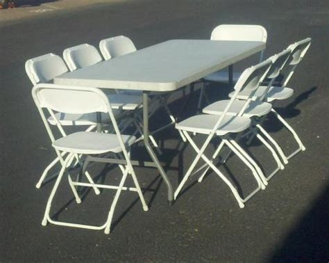 tables and chairs for rent in el paso tx