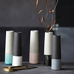Schalen Aus Beton : vase beton black pearl schalen vasen dekoration ~ Lizthompson.info Haus und Dekorationen