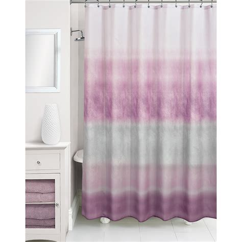 Purple Ombre Curtains Walmart by Essential Home Shower Curtain Ombre Purple