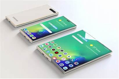 Samsung Smartphone Rollable Foldable