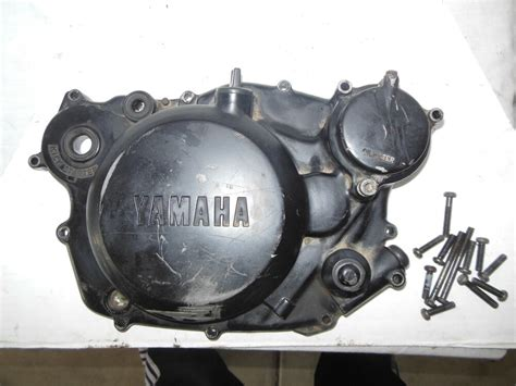 1984 Yamaha Xt250 Clutch Cover Oil Filter Cover Oil Cap