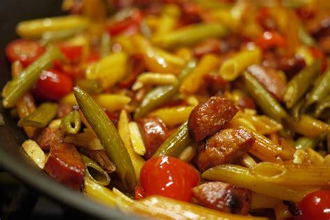 recette pate au chorizo recette de p 226 tes au chorizo et aux amandes