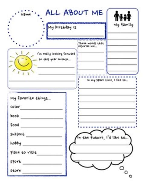 Getting To You Worksheets Getting To You Worksheets Davezan
