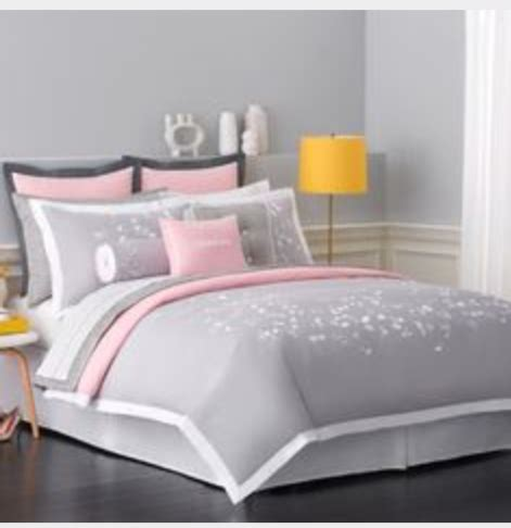 light pink and gray bedding grey light pink and white double bedding on the hunt