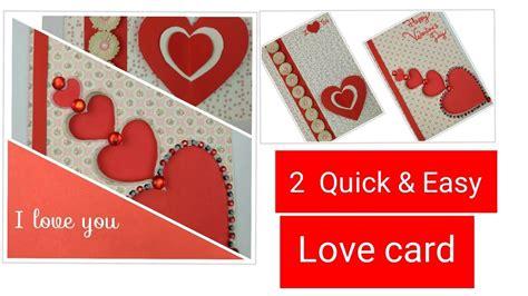 Diy Valentine Cards Handmade Greeting Cards For Boyfriend