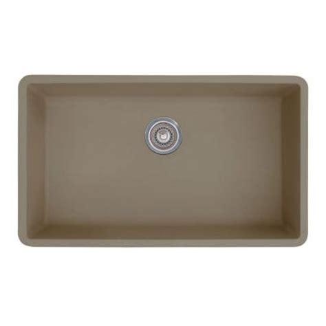 blanco precis sink truffle blanco precis undermount granite 32 in 0