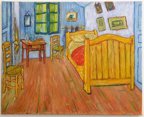 la chambre coucher gogh la chambre de gogh à arles version 1 peinte à la