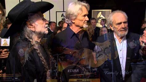 willie nelson merle haggard family bible youtube