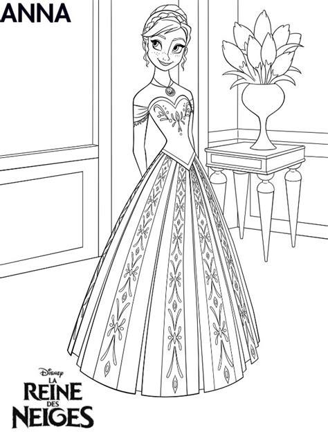 Coloriage La Reine Des Neige, Disney