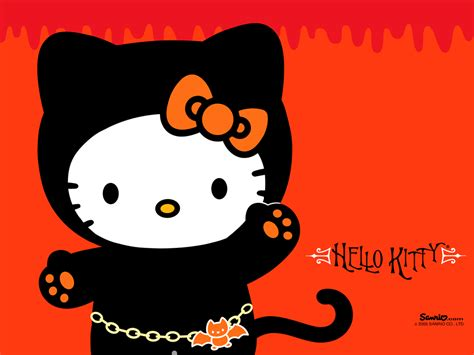 Hello Kitty Halloween Wallpapers