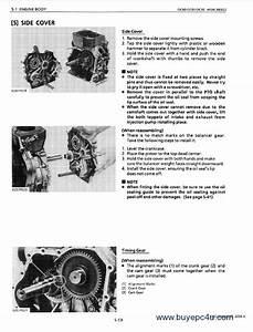Kubota Oc60 Oc80 Oc95 Diesel Engines Workshop Manual