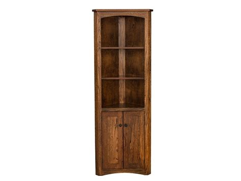 Corner Bookcases With Doors by Bookcases Assorted Greenawalt Furniture