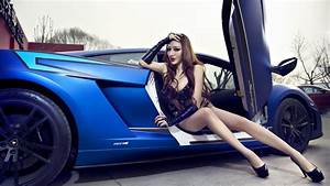 60 Images of Attractive Girls and Vehicles: Sensual ...