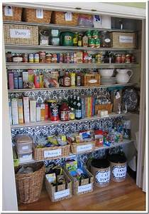 How I Transformed a Coat Closet into a Pantry - In My Own