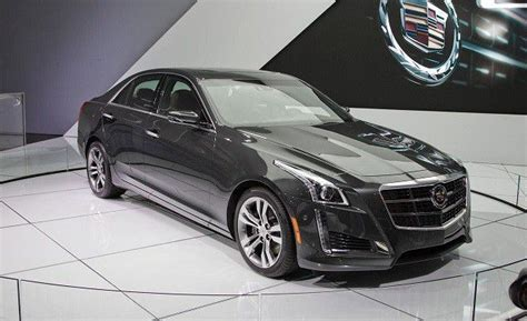 cadillac cts  redesign   car models