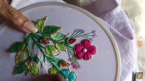 fancy embroidery stitches simple craft ideas