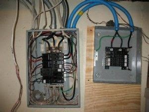 A Panel Sub Panel Wiring by When And How You Install An Electric Sub Panel In Your