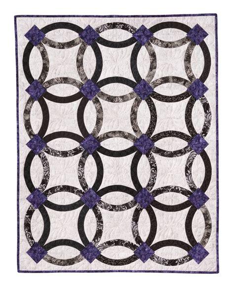 nouveau wedding ring quilt eleanor burns signature quilt