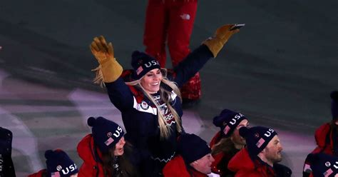lindsey vonn olympics  schedule event times tv
