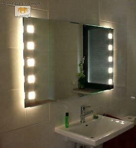 led badspiegel in 120 x 80 cm spiegel mit beleuchtung wandspiegel lichtspiegel
