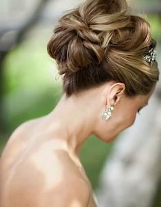 Chignon Cheveux Mi Long : chignon cheveux fins mariage ~ Melissatoandfro.com Idées de Décoration