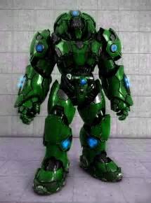 Powered Combat ArmorSuit