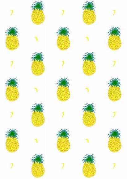 Pineapple Paper Printable Pattern Digital Printables Fruity