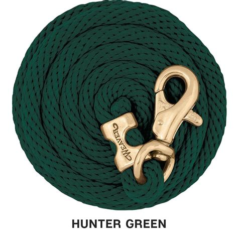 lead rope poly weaver ropes hunter leads heavy 2100