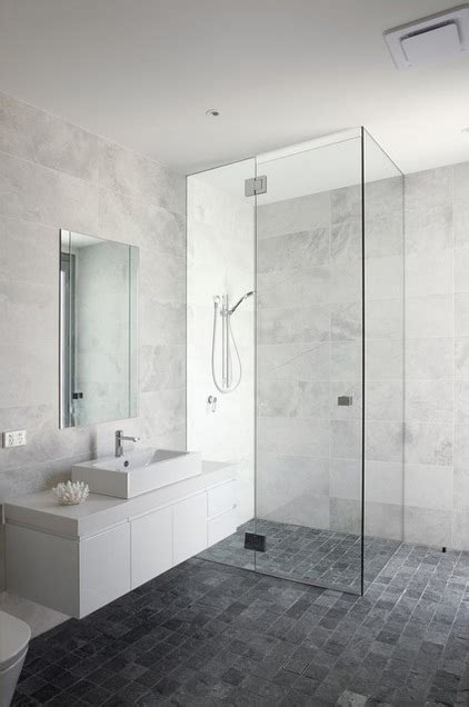 bathroom white grey marble look wall tiles grey
