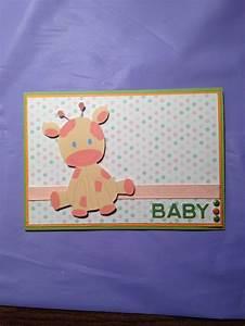 Unisex Baby Shower Card | Cards I have Made | Pinterest ...