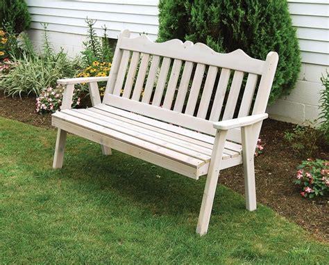 red cedar royal english bench  dutchcrafters amish