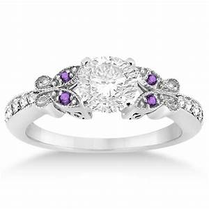 pin by allurez on butterfly engagement ring pinterest With butterfly wedding rings