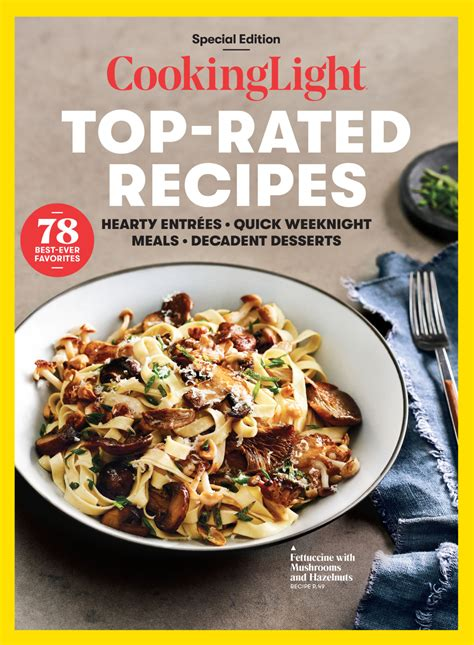 Light Cooking Recipes by Cooking Light Top Recipes