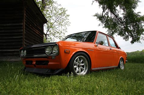 Datsun 510 Mpg by 1972 Orange Datsun 510 Oh Yes Bought This As A Second