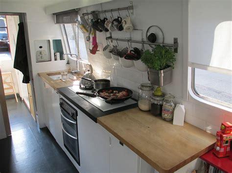 kitchen archipelago  foot narrowboat