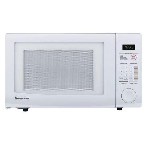 countertop microwave reviews magic chef 1 1 cu ft countertop microwave in white