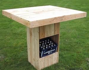 Gartentisch Selber Bauen Holz : aufbau stehtisch in palettenoptik youtube von stehtisch ~ Watch28wear.com Haus und Dekorationen