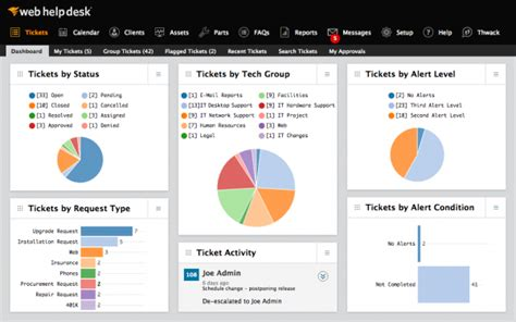 solarwinds web help desk demo solarwinds web help desk software 2018 reviews demo