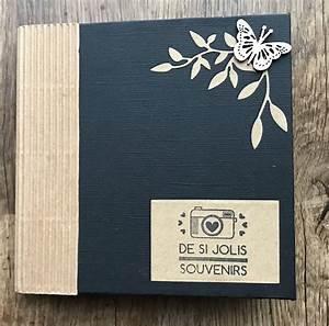 Album Photo Gifi : mini album noir et kraft jolis souvenirs scrap pinterest mini albums album et mini ~ Melissatoandfro.com Idées de Décoration