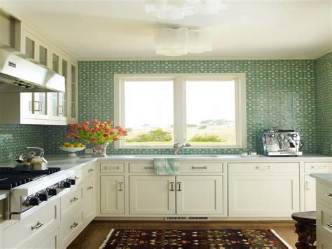 Wallpaper For Kitchen Backsplash Homesfeed