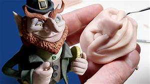 Sculpting A Leprechaun From Polymer Clay